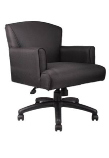 Executive Mid-Back Box Arm Chair