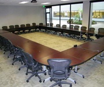 Howe Training Tables w Modesty Panel