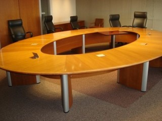 Used Conference Room Tables CubeKing - Used conference room table and chairs