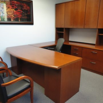 used executive office desk used office furniture at cubeking