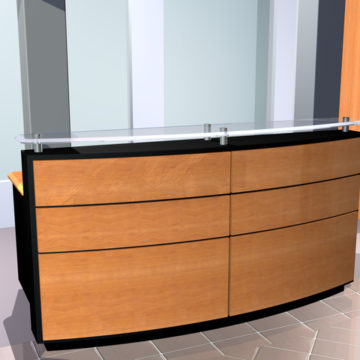 Used Reception Desks and Area