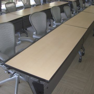 Used Work and Training Tables