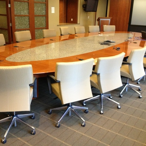 26 Maple Boardroom Table Cubeking