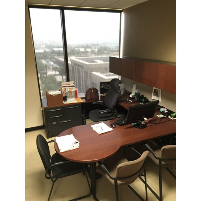 Haworth P-Top Desks