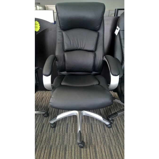 Boss Leather Plus Executive Chair B8981