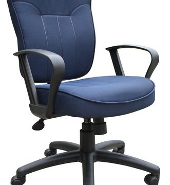 Mid-Back Task Chair - Grey