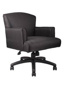 Executive Mid-Back Box Arm Chair