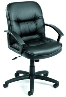 Executive Mid Back Leather Chair