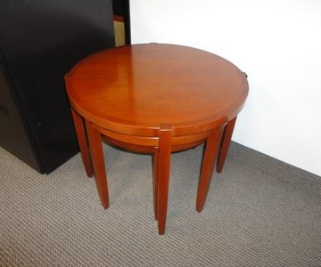 Herman Miller Nested Round Table Set