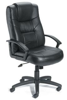 High Back LeatherPlus Executive Chair With Knee-Tilt Mechanism