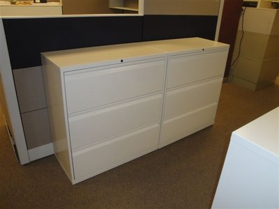 Knoll 3-drawer Lateral File