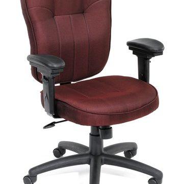 Mid-Back Task Chair - Burgundy