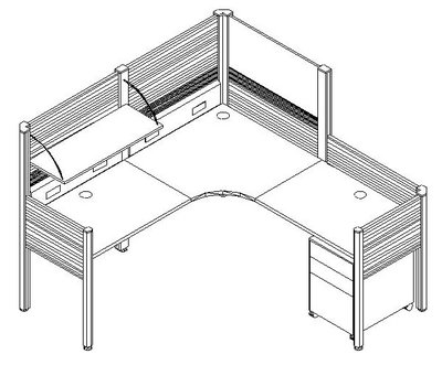 Standard Office Executive Cubicles & Workstations