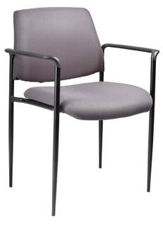 Caressoft Stacking Molded Arm Caps Chair