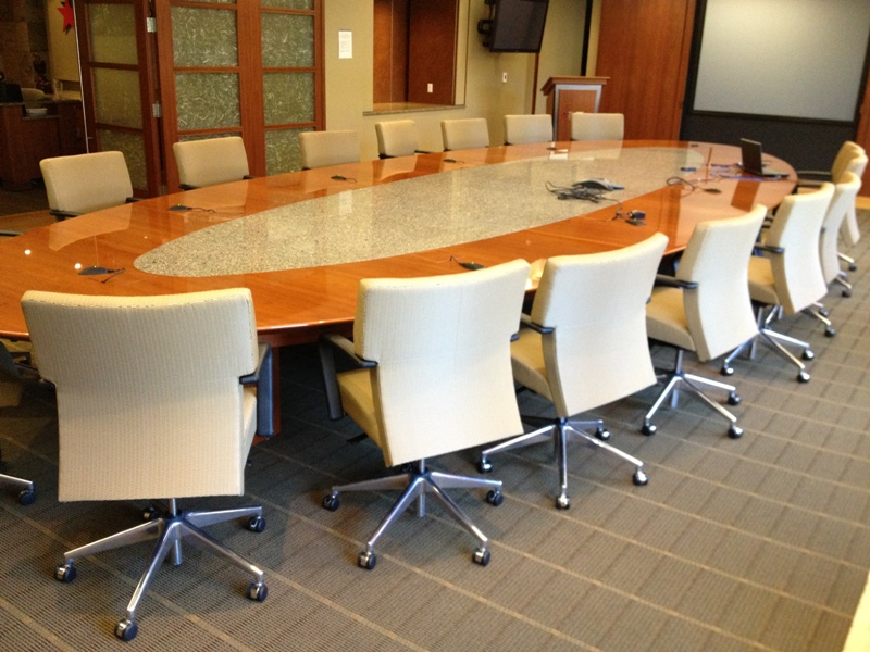 26' Maple Boardroom Table