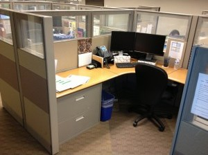Herman Miller Ethospace Cubicle (Glassed Out)