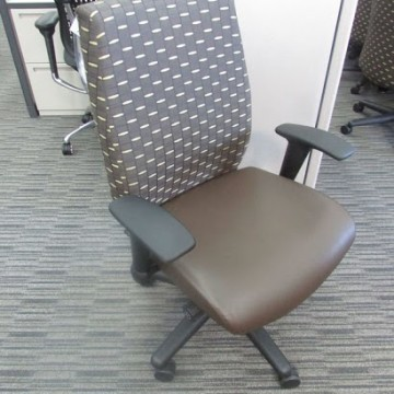 Allsteel Pattern Conference Chair