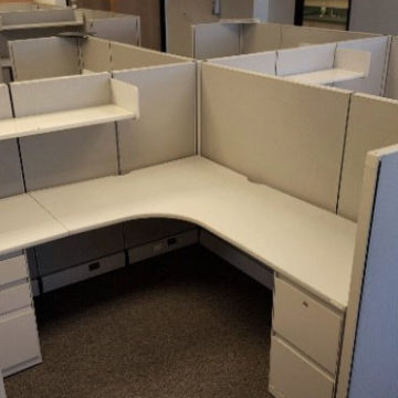 Herman Miller AO2 Style Cubicle