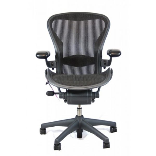 Herman Miller Adjustable Aeron Chair with Back Support
