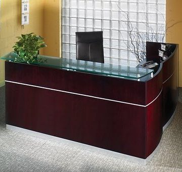 New Reception Desks and Lobby Furniture