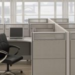 Customized, Durable Steel Frame and Tile Cubicle System